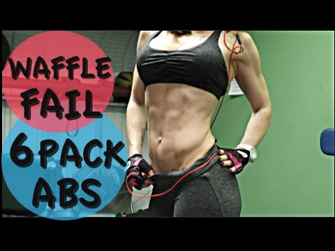 HOW TO GET SIX PACK ABS | HOW  TO MAKE EXPLODING WAFFLES