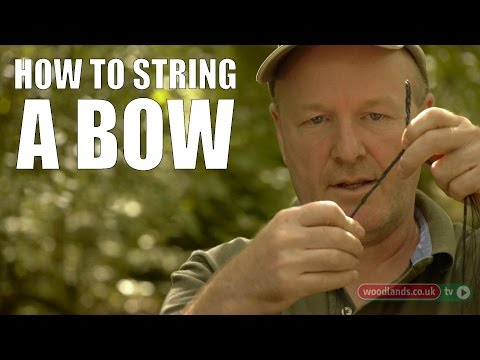 How to String a Bow