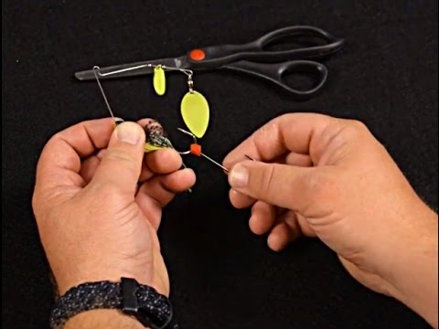 Installing A Trailer Hook For Spinnerbaits & Buzzbaits