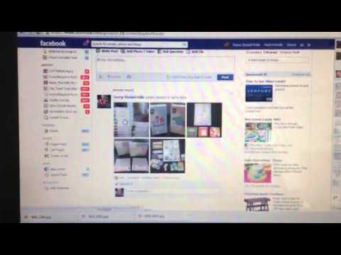 How to make photo album on Facebook