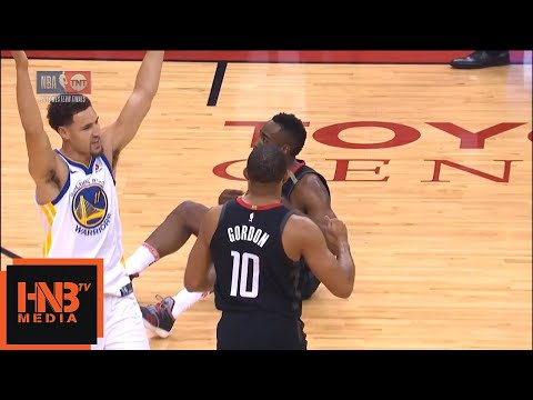 Klay Thompson gets 3rd foul in the first 4 minutes of the game