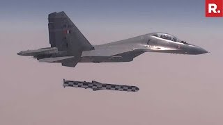 India Fires BrahMos Supersonic Cruise Missile From Sukhoi