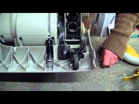 How To Replace the Clutch on a Dyson DC04 Bagless Vacuum Cleaner