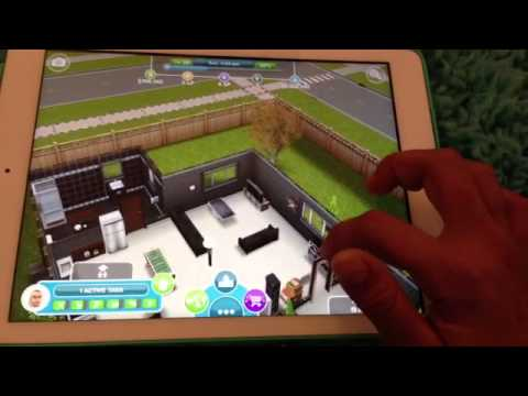 How to visit your neighbor in Sims free play.(In another world)