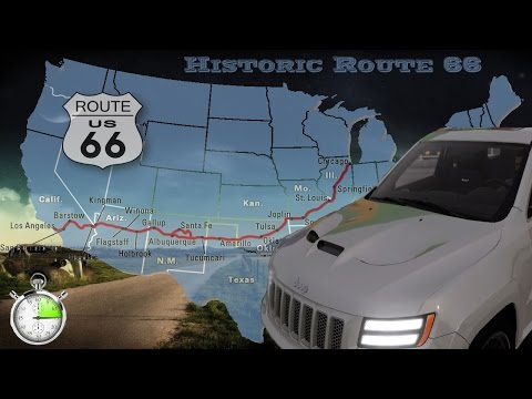 The Crew Historic Route 66 Speedmotion