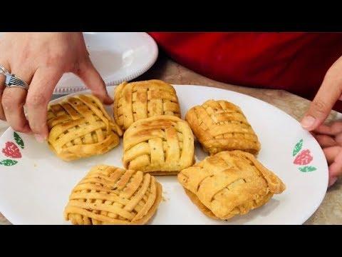 Weave Meat/Vagi Samosas in Gujarati with Raihana's Cuisines