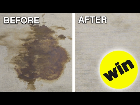 How To Remove Car Oil From Concrete
