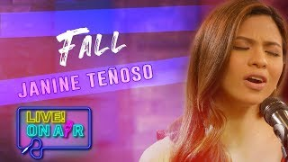 Janine Teñoso — Fall   LIVE! On Air