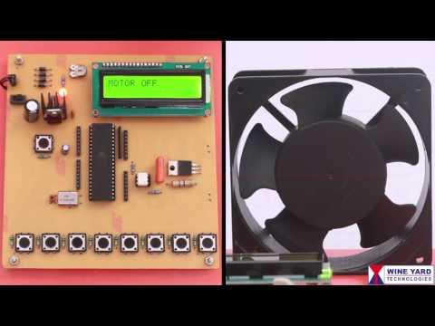 WK801 PWM Speed control of single phase AC induction motor