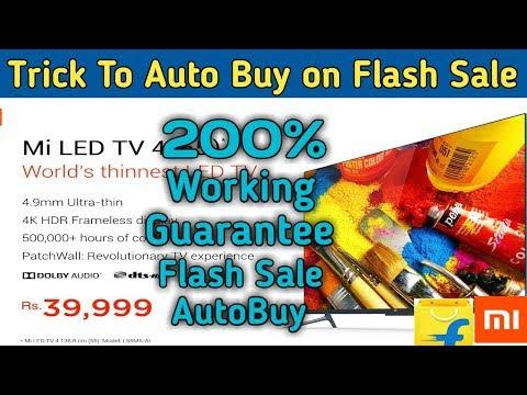 ✅How To Buy Mi TV On Flash Sale - Trick To Buy Mi TV 4 - Auto Buy Mi TV 4