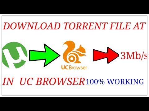 DOWNLOAD TORRENT FILE AT 3Mb/s IN UC BROWSER.