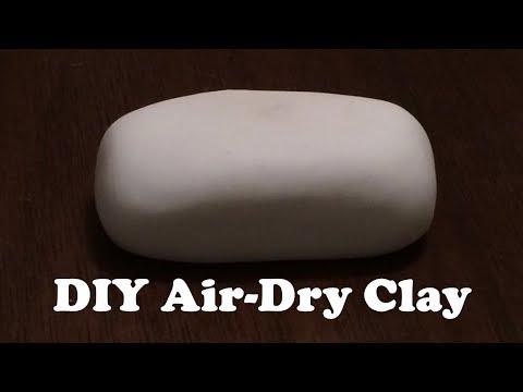 DIY Air Dry Clay| No Cooking Clay