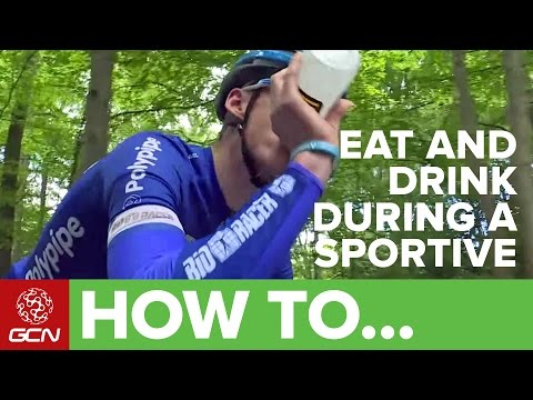 How To Eat And Drink Safely During A Sportive | Ridesmart