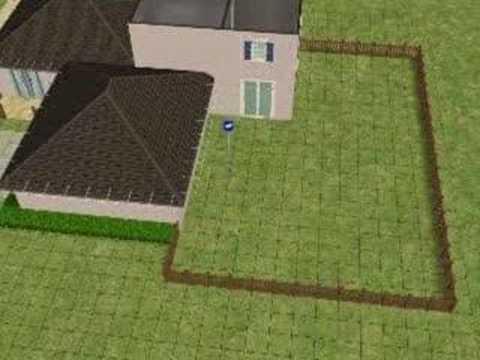Sims 2: Building a nice house