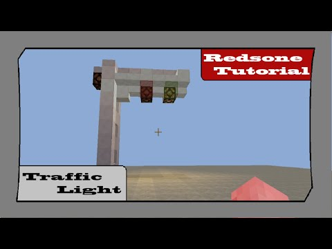 Redstone Tutorial- Traffic Light Signal (No Mods!)