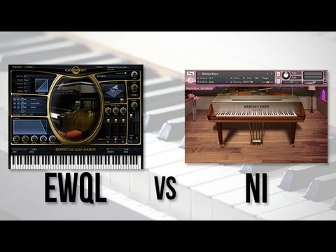 Virtual Piano Face-Off: EWQL Steinway vs. NI Alicia's Keys