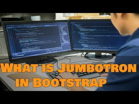 Learn Bootstrap 4 Tutorial in Hindi | What is Jumbotron in Bootstrap 4 in Hindi