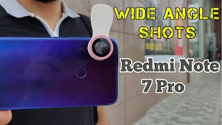 Redmi Note 7 Pro Wide angle Lens Shots - Normal VS Wide angle