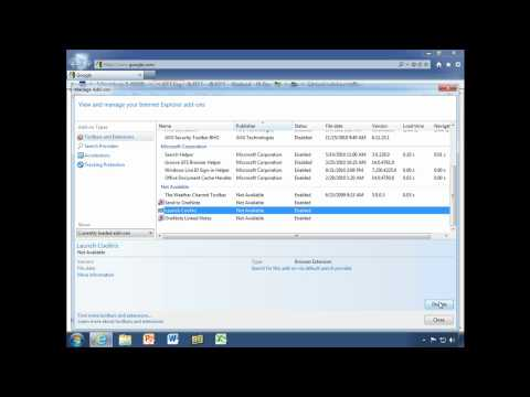 Manage Internet Explorer 9 Add-ons