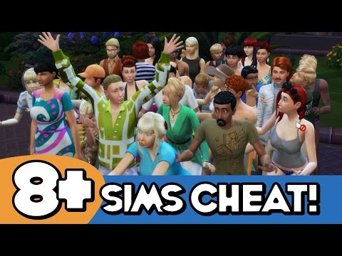 BIGGER HOUSEHOLD CHEAT! The Sims 4