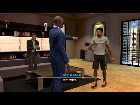 NBA 2K15 - Greenlight to shoot/Nike Deal/Created Shoes