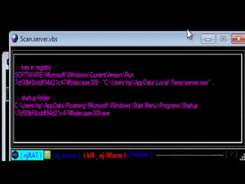 how to find hackers in your computer and delete TROJAN\ them 2017