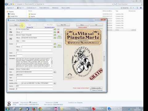 Caricare un libro sull'ebook reader (Kobo Aura HD)