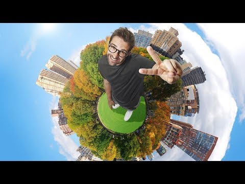 Tiny Planet Effect Photoshop Tutorial