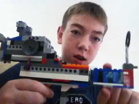 Lego ray gun life size