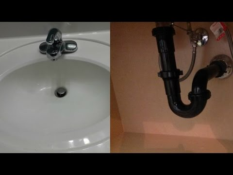 How To Fix And Clear A Slow Draining Clogged Bathroom Sink