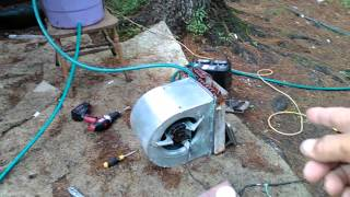easy DIY geothermal cooling system.