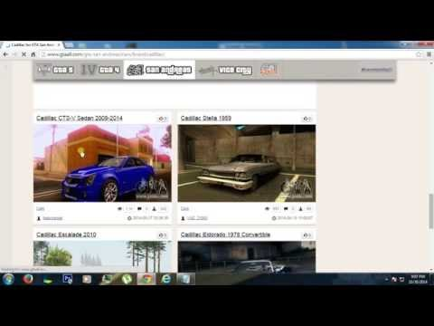GTA San Andreas|Custom Car automatic installation tutorial HD 720p