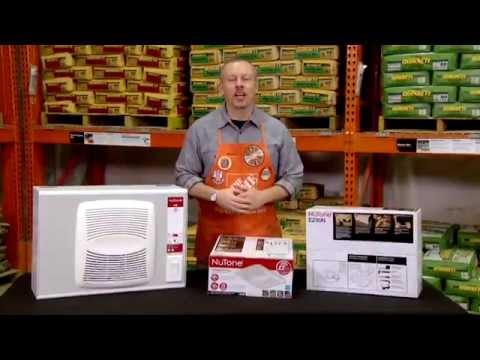 NuTone EZ Fit Ventilation Fan - The Home Depot