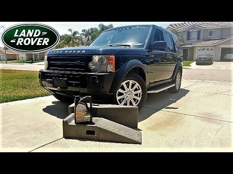 Land Rover: Want Your Engine To Last Forever - Learn How To Change The Oil -Save  Money