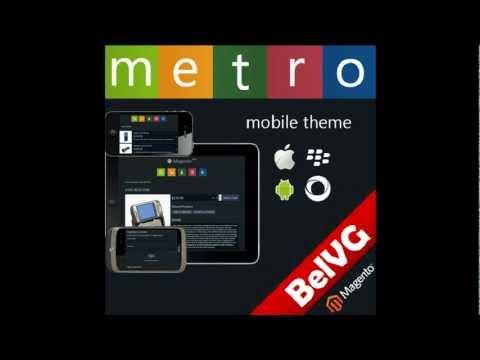 Magento Metro Mobile Theme