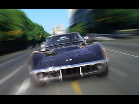 Photoshop Tutorial: How to Make a Speeding Car Scene