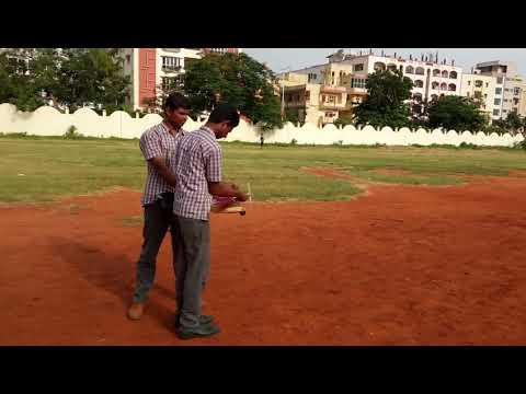 Andhra Loyola college aeromodeling 2018. CDT lakkireddy and Venkat Reddy