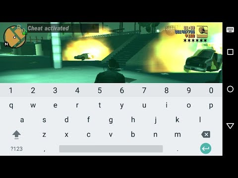 How to enter cheats on Android GTA 3 game