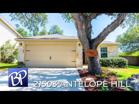 For Sale: 21503 Antelope Hill, San Antonio, Texas 78261