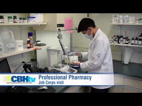 Job Corps reps visit Professional Pharmacy