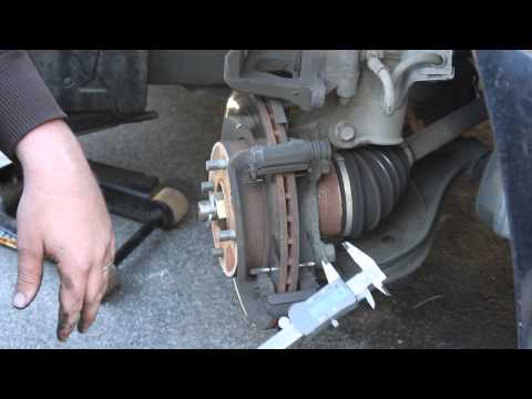 How to Replace Front Brakes Nissan Altima 98-01