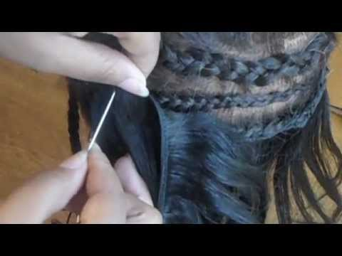 Weave Sewing Basics 2: Straight Needle Weaving