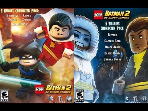 How to get DLC on Lego Batman 2 for PC [Mod]