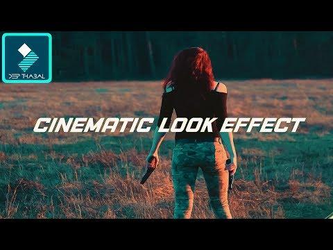 HOW TO GET CINEMATIC LOOK FILM LOOK ONE CLICK IN WONDERSHARE FILMORA [HINDI] DEEP THABAL ! 🔥🔥🔥