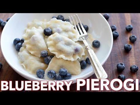 Dessert: Blueberry Pierogi (Vareniki) - Natasha's Kitchen