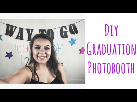 diy graduation photobooth
