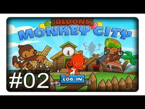 BAUEN BAUEN BAUEN #02 || Let's Play Bloons Monkey City | Deutsch
