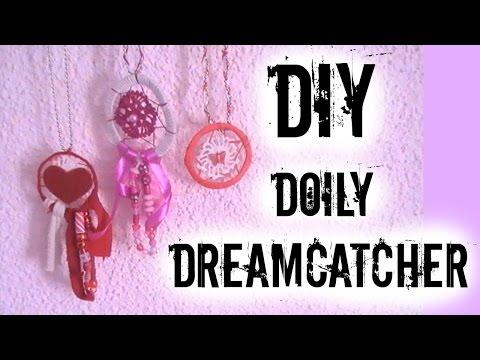 DIY How to Make : DOILY DREAMCATCHER