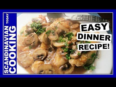 How to Make Chicken Marsala | A Homemade & Tasty Dinner Recipe