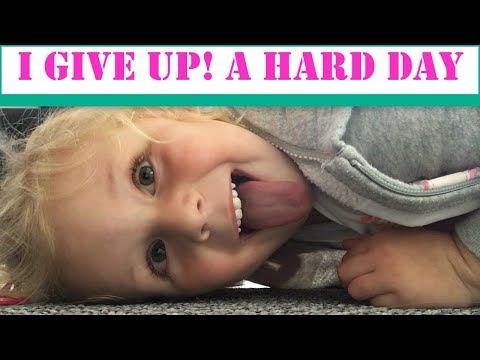 A HARD DAY |  DAY IN THE LIFE | MUM OF 2